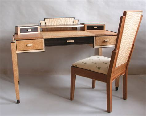 deco desk and chair