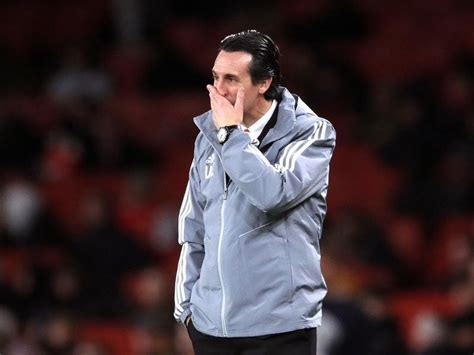 Unai Emery's record at Arsenal compared to the end of ...