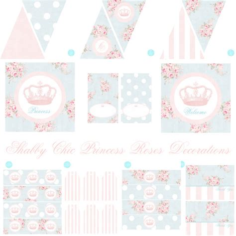 shabby chic princess princess birthday princess baby shower shabby chic birthday
