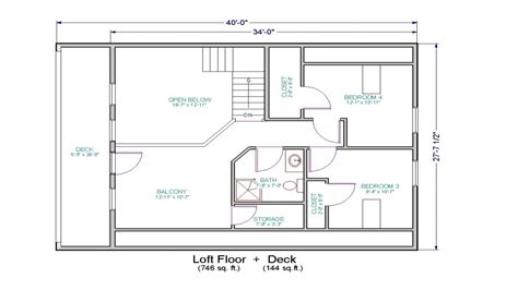 open floor house plans with loft small house floor plans with loft small cottage house