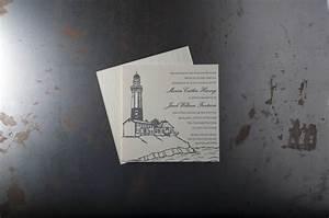 nautical wedding invitations pike street press With letterpress wedding invitations seattle