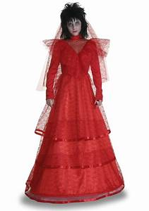 red gothic wedding dress costume With wedding dress costume