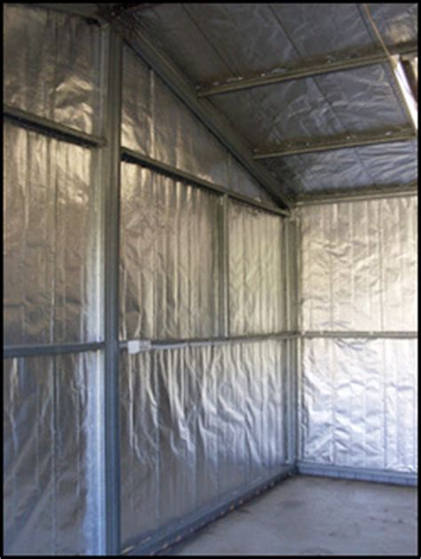 insulate metal shed diy discounted premium shed insulation