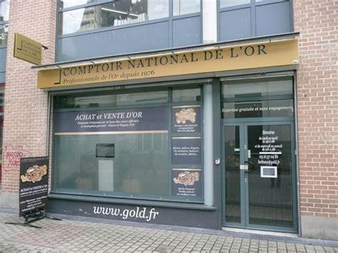 Comptoir De L Or by Le Comptoir National De L Or De B 233 Thune Achat Et Vente D