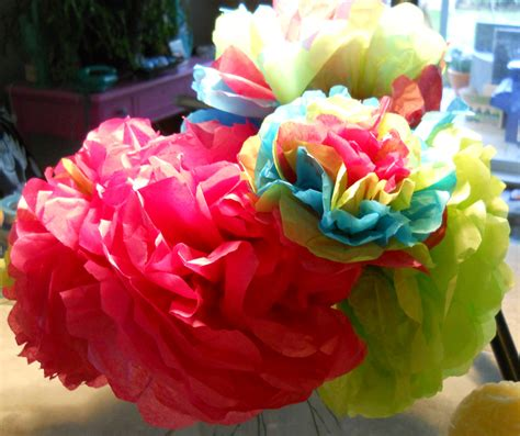 Mexican Tissue Flowers Creativityblossomsafter60