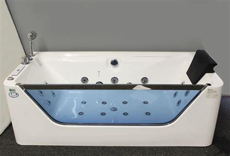 jetted bathtub whirlpool air massage waterfall heater