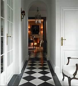 Black, And, White, Tile