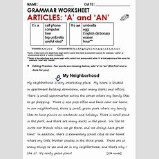 Articles  All Things Grammar