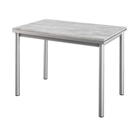table cuisine but table de cuisine en stratifié avec rallonges basic 4