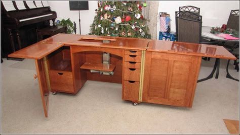 Sewing Desk Plans Free by Sewing Machine Cabinet Plans Manicinthecity