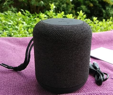 Anker Motion Q by Anker Soundcore Motion Q Waterproof Fabric Bluetooth