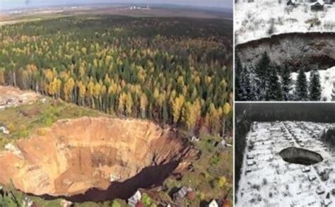 Elles vārti Krievijā: gigantiskais caurums Soļikamskā ...