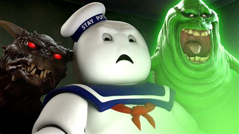marshmallow man reacts  ghostbusters trailer youtube