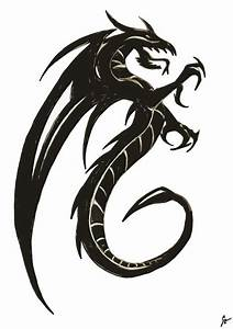 Free Dragon Images Black And White, Download Free Clip Art ...