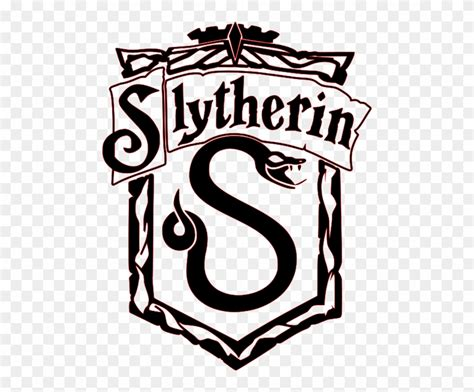 library  black  white slytherin clip art royalty  png files clipart art