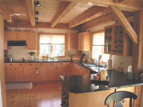a frame kitchen ideas kitchen cabinet ideas for your timber frame home timber frame homes more