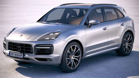 Porsche Cayenne Hybrid 2018 3D | CGTrader