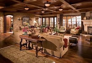 Anaheim Hills Tuscan Villa mediterranean-living-room