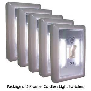 Battery Operated Led Cabinet Lights by Promier Wireless Light Switch Cob Led Battery Powered