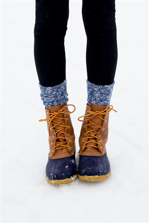 L.L.Bean Boots in Mount Snow Vermont - Kelly in the City