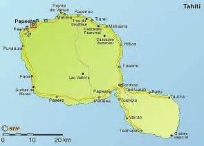 carte g 233 ographique touristique et plan de la polyn 233 sie fran 231 aise 987 papeete