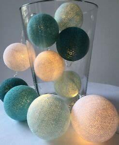 Cotton Balls Lichterkette : cotton ball lights lichterkette 10 20 35 er blau t rkis gr n t ne neu ebay ~ Eleganceandgraceweddings.com Haus und Dekorationen