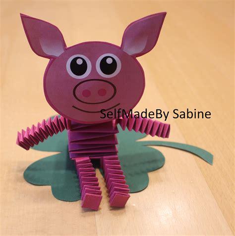 glücksbringer basteln mit kindern selfmadeby sabine gl 252 cksbringer basteln mit kindern