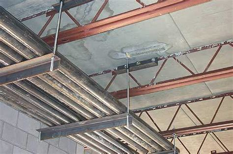 Suspended Ceiling Joist Hangers by Hambro Mep Mechanical Support Pipe Hangers Mechanical Load