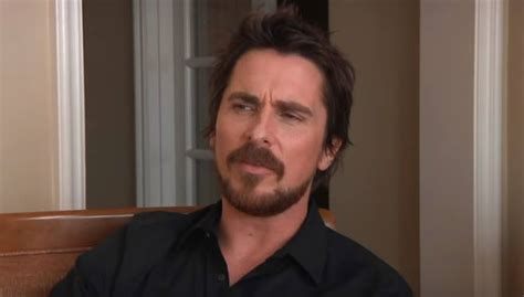 Christian Bale Get More Satisfaction Out Your Work