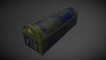 Coffin Dio 3d Pbr Models Vr Poly