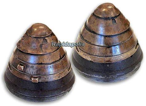 Antique Ww1 75 Mm Artillery Shell