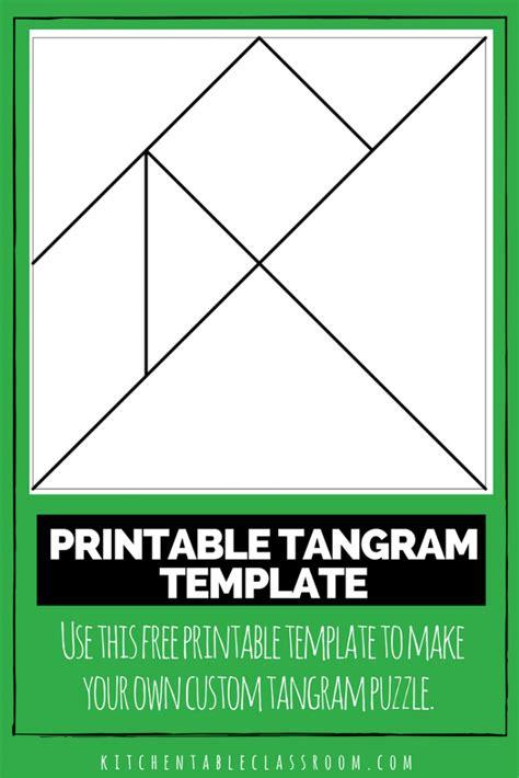 tangram template color a tangram template tangrams print the pattern belo learning printables for tangram