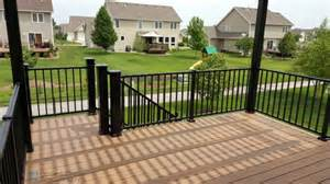 timbertech legacy tigerwood deck and pergola des moines deck builder deck and drive solutions