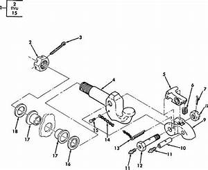 Figure 71  Pintle Hook Assembly And Related Parts