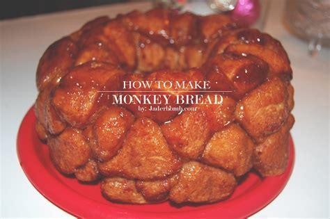 HOW TO MAKE MONKEY BREAD  RECIPE   JADERBOMB