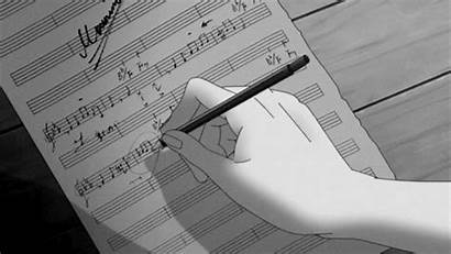 Anime Animated Notes Gifs Notation Note Musical
