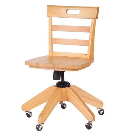 small desk chair no wheels wooden desk chair on wheels cool wooden desk chair no
