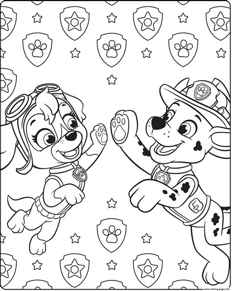 Paw Patrol Skye Coloring Pages Coloring Home