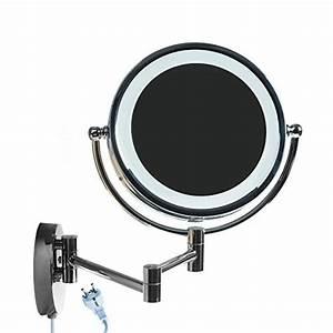 Miroir Grossissant Lumineux X10 : himry 8 5 pouces led miroir cosm tique mural grossissant ~ Dailycaller-alerts.com Idées de Décoration