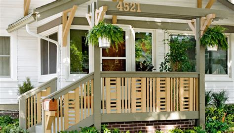 choose inexpensive porch railing ideas