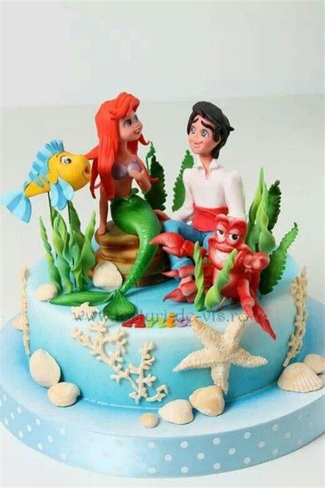 images  ariel cakes  pinterest mermaids