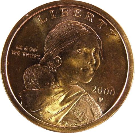 2000 gold dollar sacagawea dollar 2000 p o0914 ebay