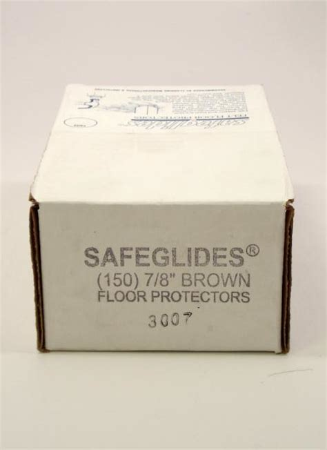 glitsa floor finish safety glitsa 7 8 inch tap in safeglides felt floor protectors