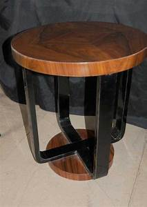 Side, Table, Art, Deco, Modernist, Vintage, Single