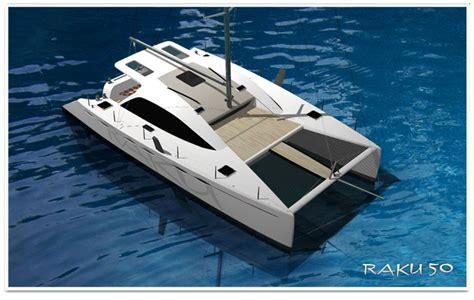 Catamaran Design News by Grainger Raku 50 New Catamaran Design Series Boat