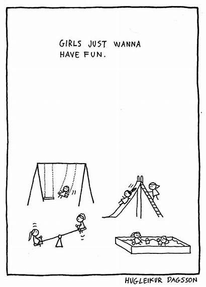 Dagsson Hugleikur Comics Funny Songs Parody Lauper