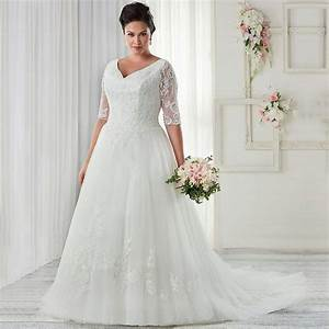 plus size wedding dresses with sleeves 32 fashion best With size 32 wedding dress