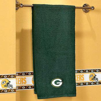 Green Bay Packers Bath Towel Set by Green Bay Packers Applique Bath Towel Stuff For My