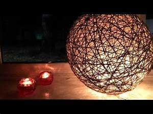 Comment Fabriquer Une Lampe : comment fabriquer une lampe ficelle avec un ballon de baudruche youtube ~ Medecine-chirurgie-esthetiques.com Avis de Voitures