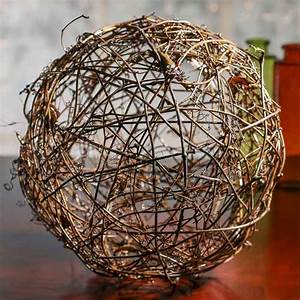 Large Grapevine Twig Ball - Vase and Bowl Fillers - Home Decor
